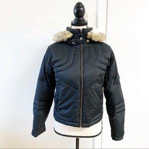 COLUMBIA Convert Black Down Alt Puffer Jacket